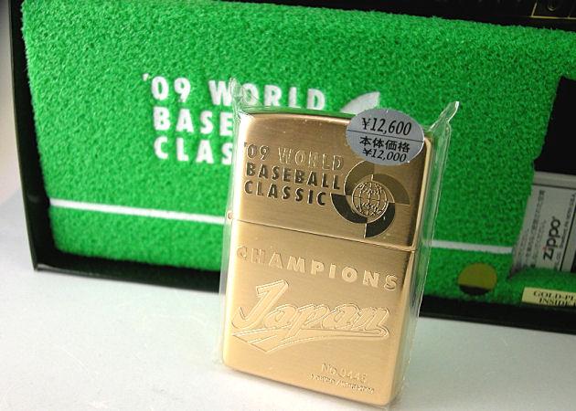 ワールドベースボールクラシックGOLD CHAMPIONS ZIPPO