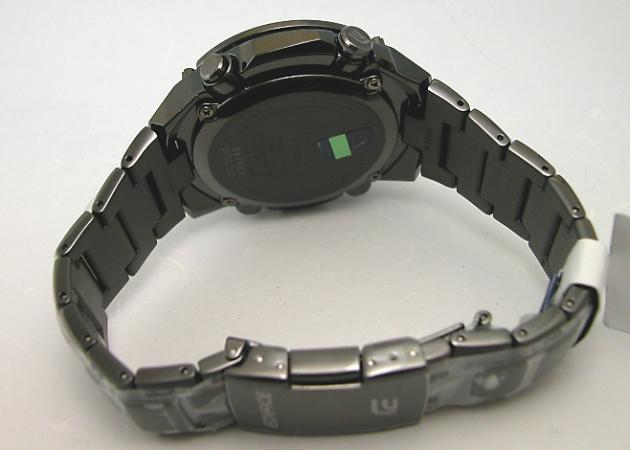 カシオ EDIFICE MULTIBAND6クロノグラフソーラー電波時計